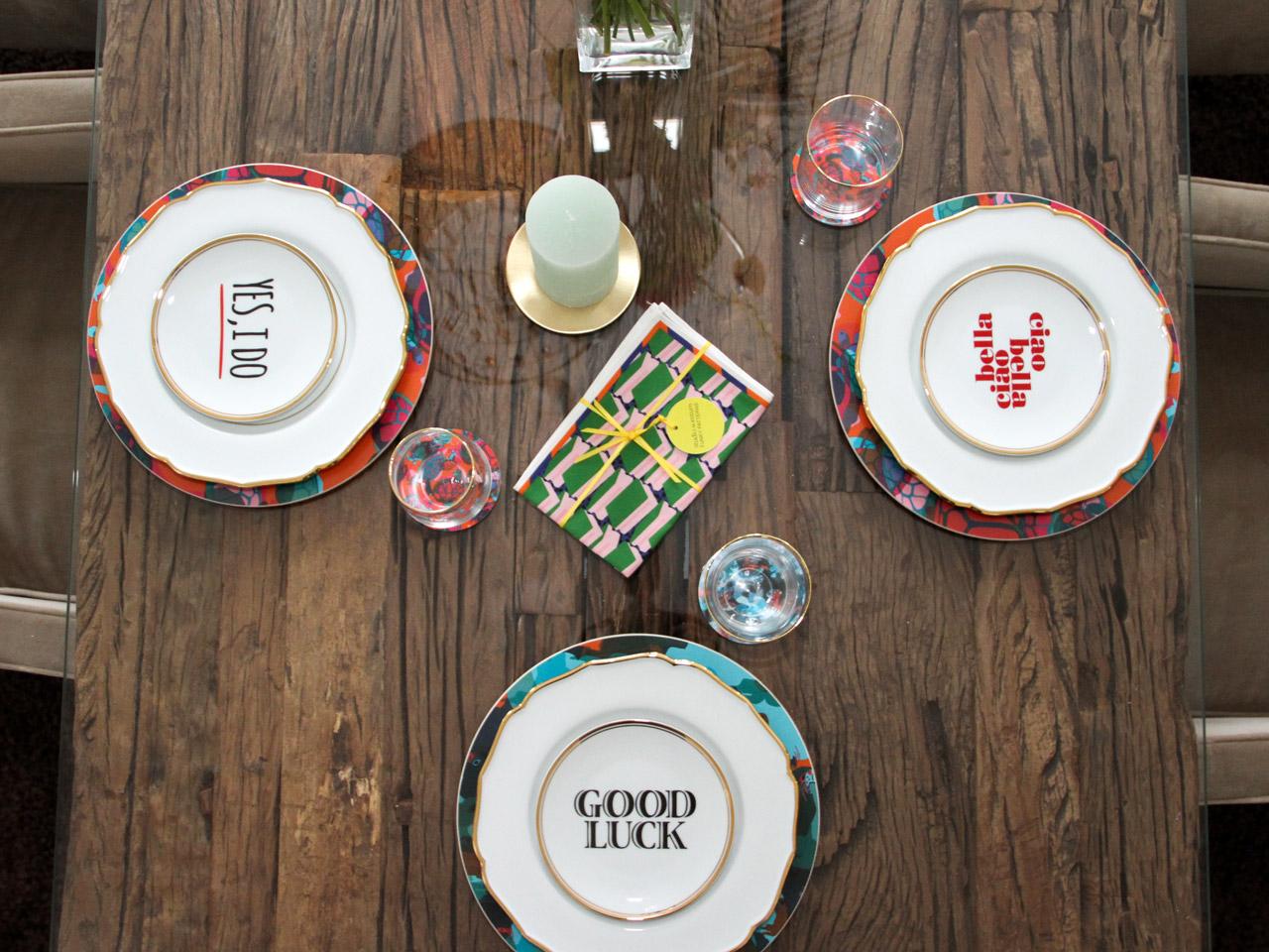 Hapitable Funky Tableware